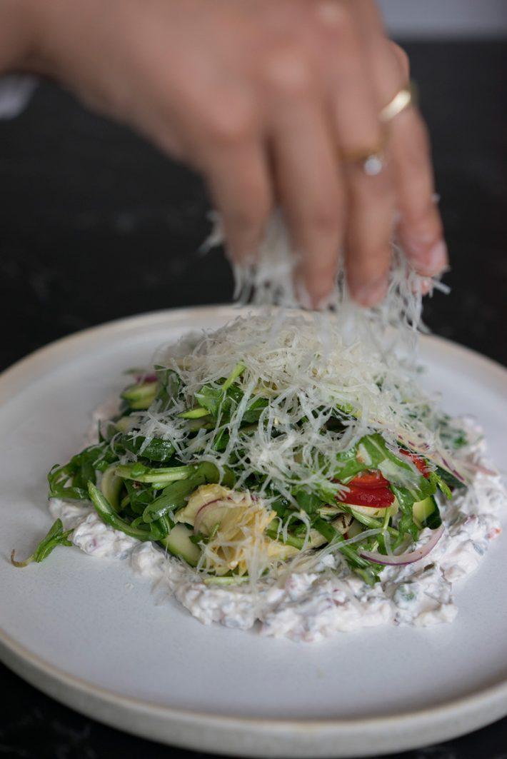 Modena artichoke salad | By Yafo Restaurant