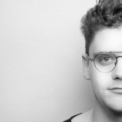 Portrait Lukas Bazle 2 BW 2