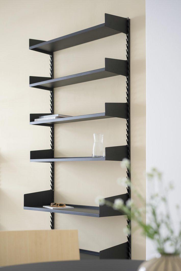 The Even Better Shelf set 1 shot in the living room - Fantastic Frank Furnished Apartment.