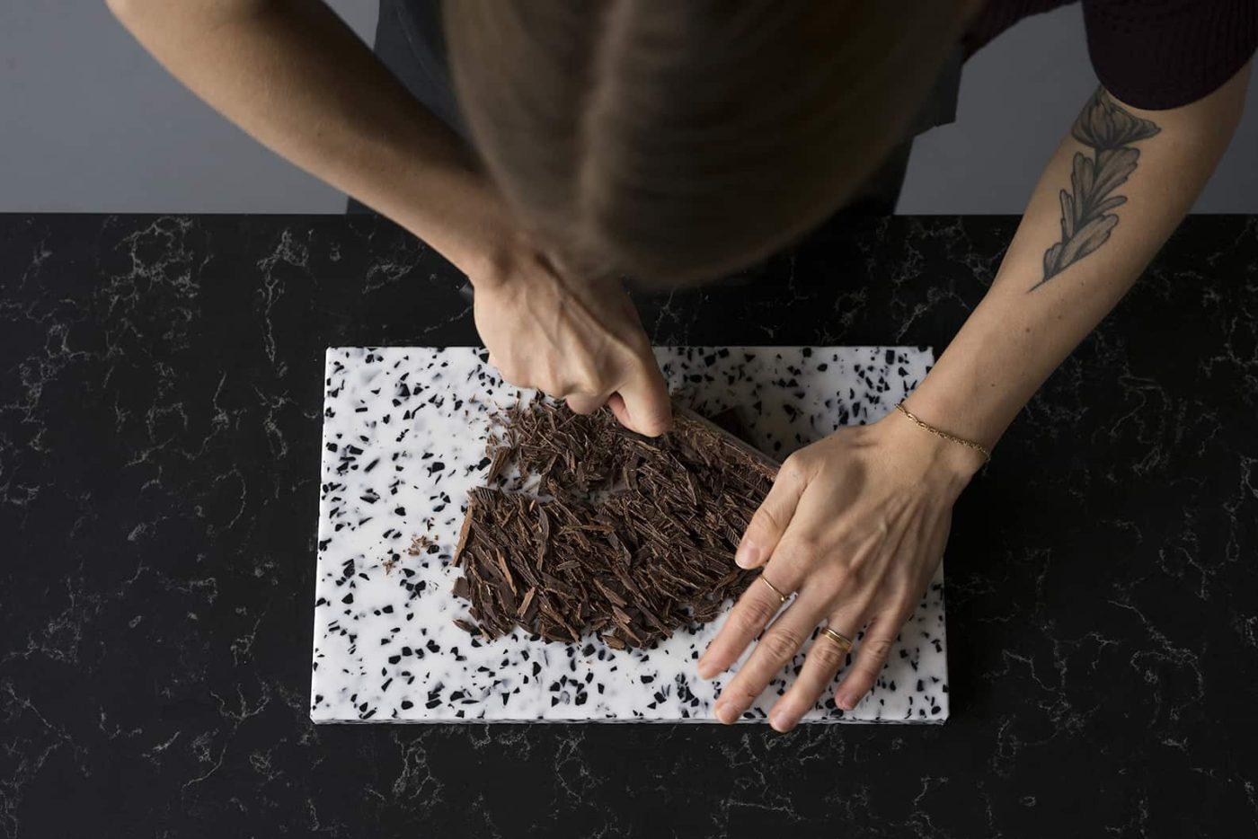 Crimson Brownie Sorbet | von Dea Kaker Strucl