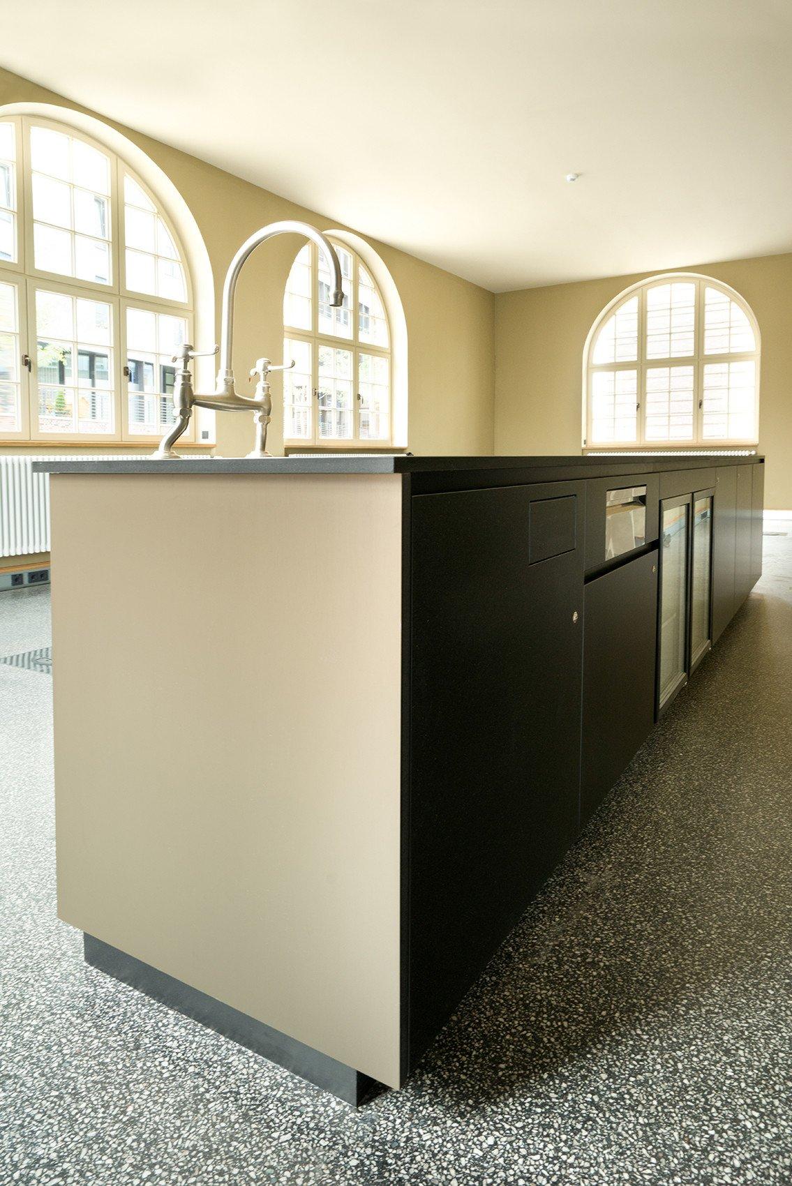 Die Cantina-Kücheninsel / Bar