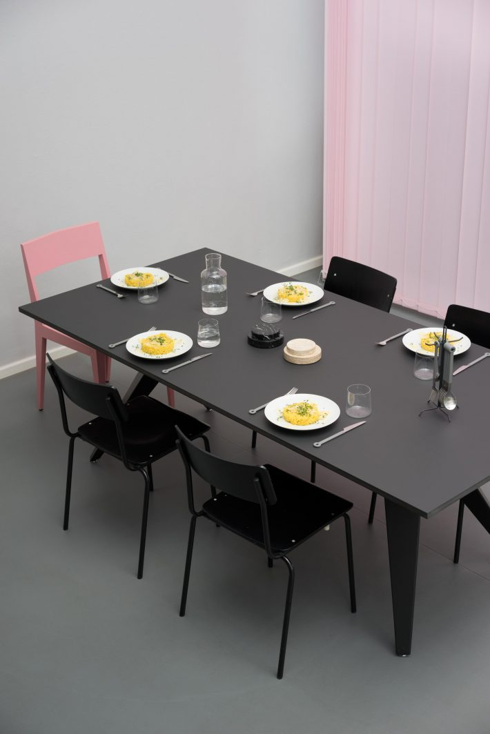 Our Busy table is set and ready at our Berlin studio