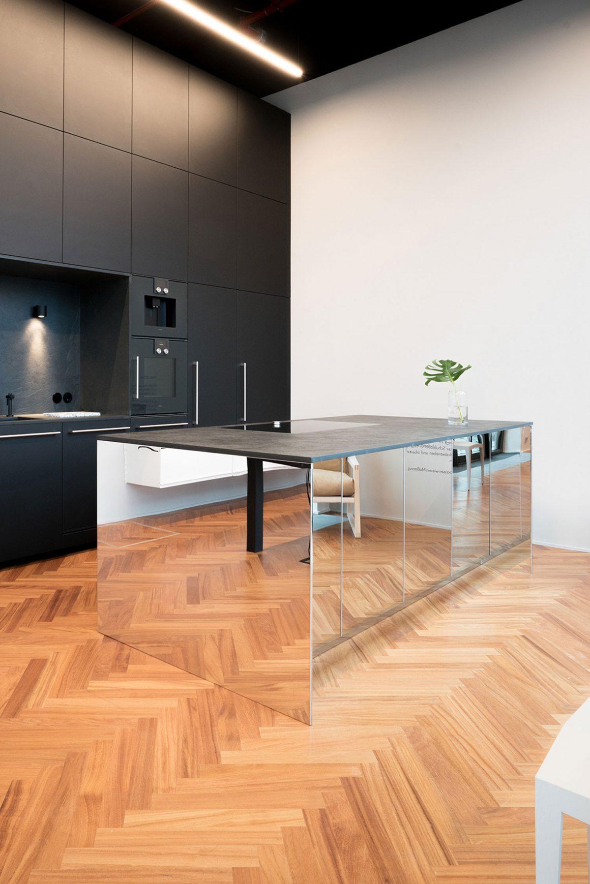 Kücheninsel - Edelstahl