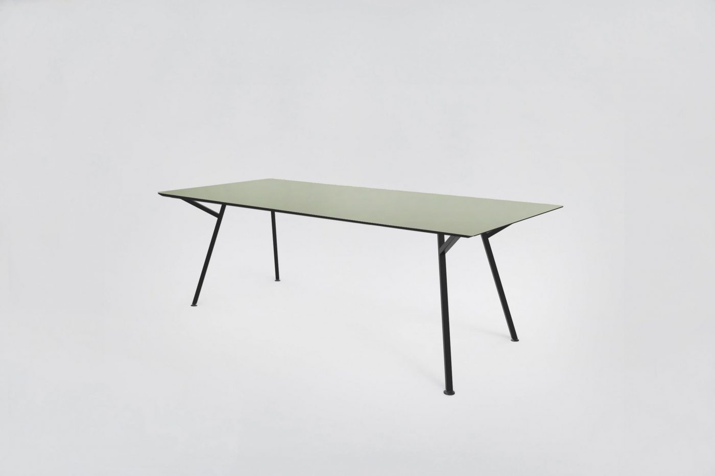 MY KILOS EGON TABLE BLACK GREEN scaled