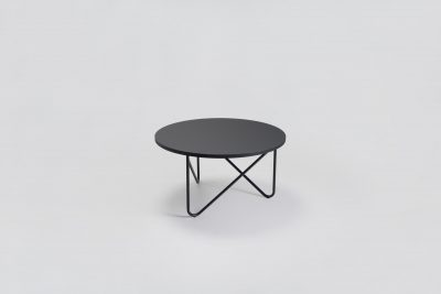 08 MYKILOS VVV TABLE BLACK GREEN ROSE  GRAY LINOLEUM