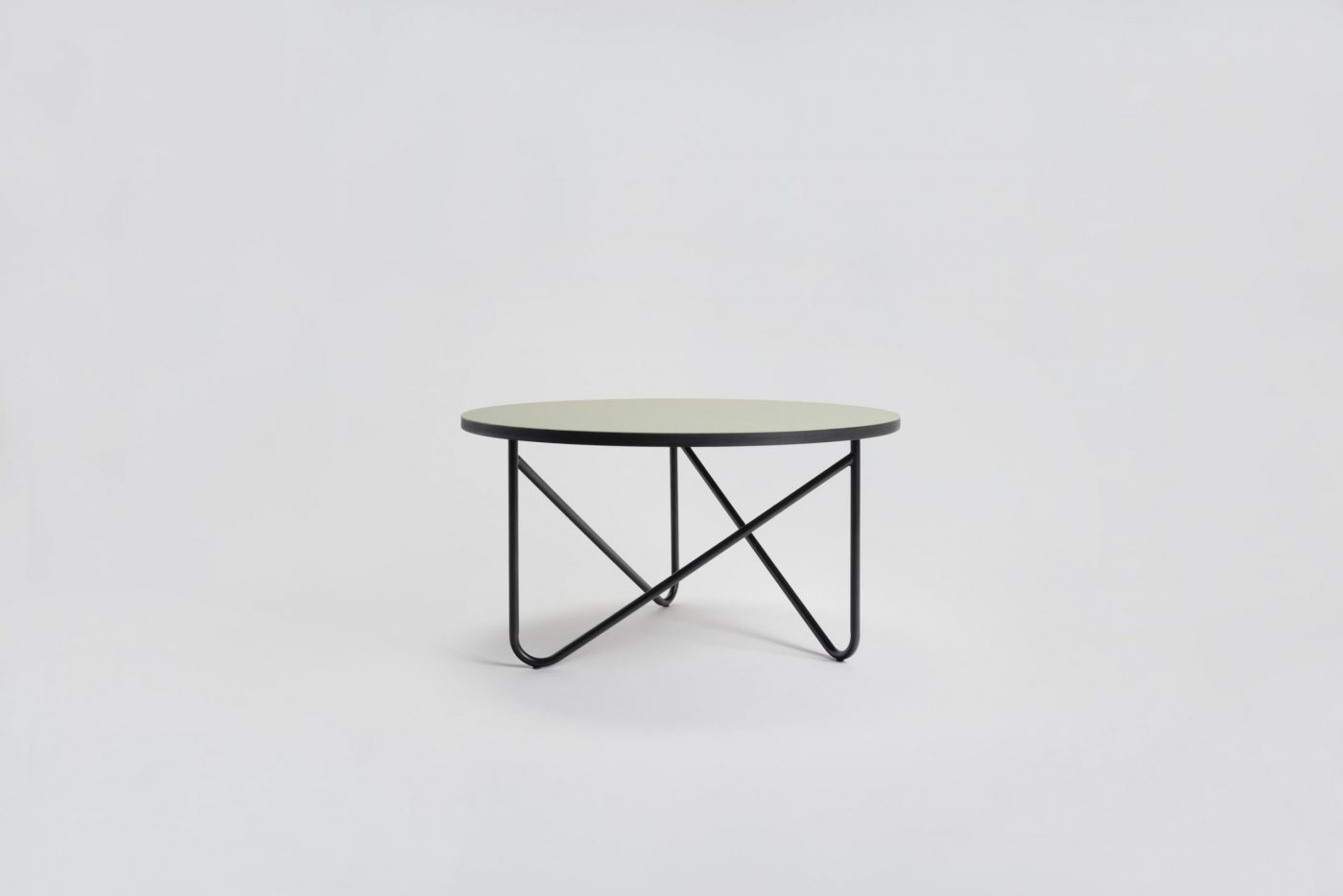 09 MYKILOS VVV TABLE BLACK GREEN ROSE  GRAY LINOLEUM scaled