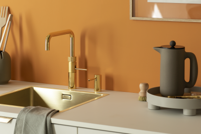 Quooker tap - Fusion Square in Gold